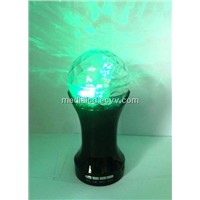 Music led Crystal magic ball light stage magic lamp music speaker