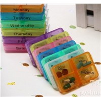 Name:Medicine Weekly Storage Pill 7 Day Tablet Sorter Box