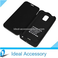 New Arrival 3200mAh Flip Cover External Portable Battery Backup Power Case for Samung Galaxy S5