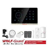 New Mobile Phone APP Control RFID Touch keypad GSM Home Voice Alarm System Wireless