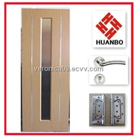 New design interior MDF wooden PVC doors