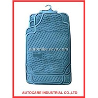 Newest design car mat,pvc/tyr material car mat,fast moving car mat