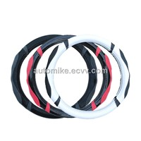 Newest desin steering wheel cover,2014 steering wheel cover,pvc material steering wheel cover