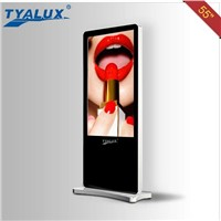 Newly 55 inch LCD digital WIFI advertising totem