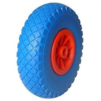 No Flat Tire Wheel in Polyurethane Foam Material