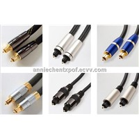 Optical Audio Cable / Toslink to Tolsink audio cable