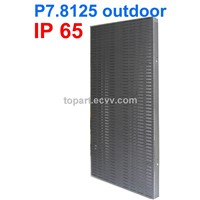 P7.8125 outdoor rental stage led curtain screen
