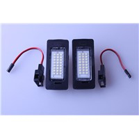 PAIR FREE ERROR LED LICENSE PLATE LIGHT FOR AUDI A4 B8 A5 S5 TT Q5 PASSAT R36