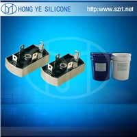 PCB Electronic Potting Silicone with black color