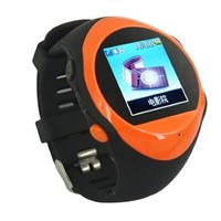 PG88 watch Mobile phone GPRS GPS GSM LCD MP3 FM satellite gps watch wrist length table