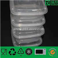 PP Material Plastic Containers with Lids