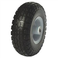 PU Tubeless Tire for Handtruck Wheel Barrow
