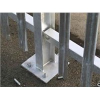 Palisade Fence Gates, Posts & Fittings