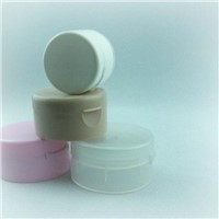 Plastic PP cap lid closure cover 30ml 60ml 100ml 150ml for cosmetic