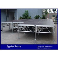 Portable stage mobile stage for sale