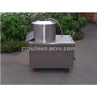 Potato peeling machine