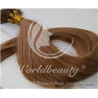 Pre bonded hair extensions