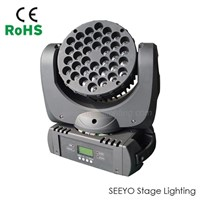Professional 36*3w RGBW LED Wash Moving Head