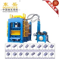 QT6-15B Automatic fly ash cement bricks manufacturing plant to India