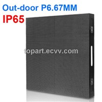 RK6S P6.67 outdoor full color rental stage LED screen