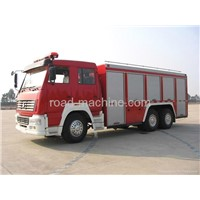 HOT SALE SINOTRUK12T/12M3 FOAM HOWO FIRE TRUCK