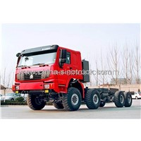 HOT SALE SINOTRUK 8X8 ALL WHEEL-DRIVE TRACTOR TRUCK