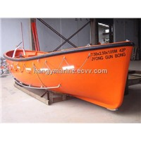 SOLAS MED Approved Open Type Life Boat