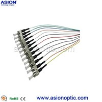 ST Pigtail 12 core fiber cable assembly manufacturer