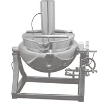 SUS304 or 316 ,100-1000L jacket kettle