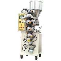 Small cheap packer, Single lane sachet filling sealing and packing machine by film roll,
