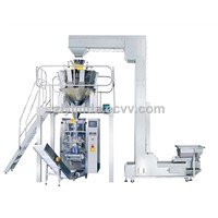 Snacks and coffee packaging machine