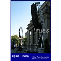 Speaker truss system outdoor concert truss audio truss line array truss