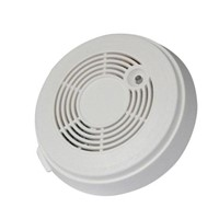 Standalone 9V battery smoke alarm detector with infrared photoelectric sensor