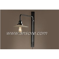 Steel Frame Wall Light