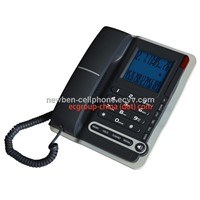 Stock Inventory Caller ID Corded Telephones with Hands free, Big LCD, Memory Keys.