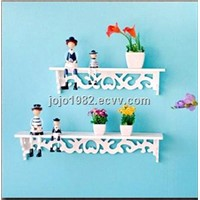 Storage Holders & Racks, Bathroom Shelves 2 layers white