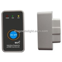 Super Mini ELM327 WiFi with Power Switch WIFI ELM327 OBD2/EOBD Mini ELM 327 auto Code Reader Tool
