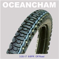 Supply various sizes of motorcycle tyres