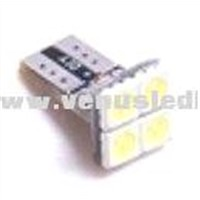 T10 4SMD 5050 chip high brightness Canbus led bulb