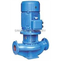 TPG Vertical Inline Centrifugal Pump For Water Supply Electric High Efficiency