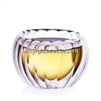 Top Rated 50ml Striped Glass Cup Double-wall Glass Cup
