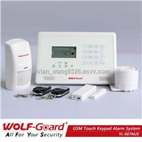 Touch Screen 2014 New Wireless GSM SMS Auto Dialer Home Security Burglar Alarme System