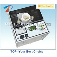 Transformer oil tester machine with special testing and anti-jamming technologies