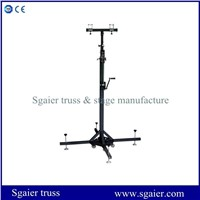 Truss Lifting Tower, Heavry Duty Truss Elevator Tower, Wind up Stand