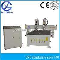 Two Spindle Hot Sale Wood Carving CNC Router