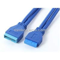 USB3.0 20pin Extension Cable 50cm Long