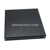 USB 3.0 External Slim Case Caddy for SATA Laptop CD DVD RW Blu Ray Burner Drive
