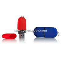 USB Flash Drive , Hot-sell Promotional Pill USB Flash Drive for Gift Items, Plastic Body, Keyring