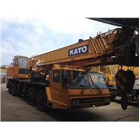 USED KATO 50T NK-500E-3 MOBILE TRUCK CRANE YEAR 1998