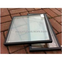 Ultra thickness grey coated insulated tempered glass in building curtain walls